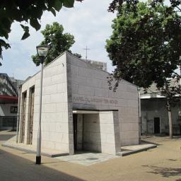Mariakapel en oorlogsmonument in Tilburg